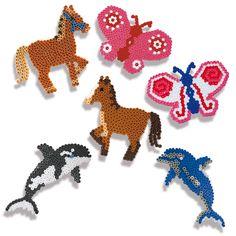 SES Iron-on beads - Animals #irononbeads #animals #strijkkralen