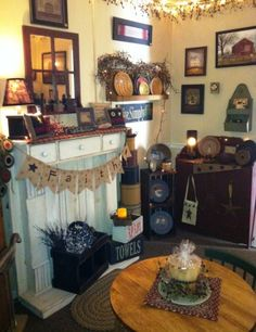 In the Store - Country Charm Furnishings Antique Store Displays, Antique Stores, Country Charm, Liquor Cabinet, Charmed, Antiques, Storage, Furniture, Home Decor