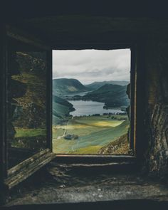 Window View by Adam Firman Ventana Windows, Beautiful World, Beautiful Places, Nature Landscape, Through The Window, Window View, Lake District, Adventure Is Out There, Oh The Places You'll Go