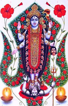 hinducosmos: Kali (via Dolls of India)