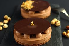 Chocolate and hazelnut is a combination widely used in pastry kitchen. I absolutely adore this flavour! Do you know of anyone who would s...