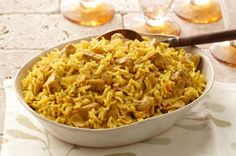 Chicken Biryani...my Grandma used to make this when I was younger but in her own recipe.  So good! recipes