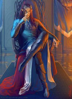 Faënor le Flamboyant . Souverain du royaume elfique d'Ishaldens en Cérilia. Père de Firaël