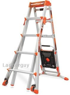 A ladder that works on staircases. Little Giant Select Step Ladder 5u0027-8  sc 1 st  Pinterest & Werner 2-ft Type IA Aluminum Step Stool | *Tools u003e Ladders ... islam-shia.org
