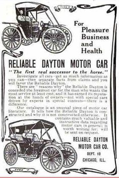 1909 Reliable Dayton
