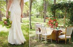 How to Style a Wedding Table: By Camille Styles