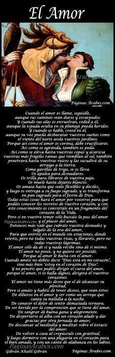 El Amor - GIbran Khalil Gibran