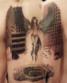 60 Holy Angel Tattoo Designs | Showcase of Art & Design