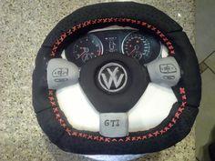 Golf 6 GTI cake 3d Cakes, Cupcake Cakes, Cake Ideas, Vw, Birthday Cake, Golf, Pastel, Husband, Sweets