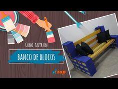 Banco de concreto passo a passo + modelos personalizados - YouTube