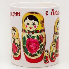 Semenovskaya Nesting Doll Mug | eBay