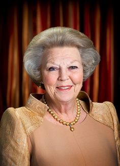 75th Birthday picture release by the Dutch Royal house. Her birthday is Jan. 31, 2013