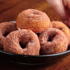 Chocolate-Stuffed Churro Donuts Recipe by Tasty - Desserts Easy Desserts, Delicious Desserts, Dessert Recipes, Yummy Food, Creative Desserts, Delicious Chocolate, Sweet Desserts, Dessert Ideas, Churro Donuts