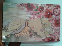 Virágos lány - KreativHobbyLabor.hu