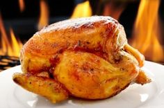 If you roast a chicken on Sunday you'll have leftovers for busy nights during the week