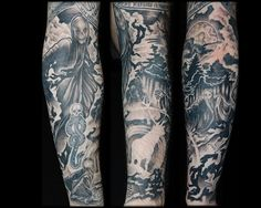 harry potter sleeve tattoo - Google Search
