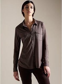 silk cotton jersey