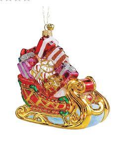 Love this Christmas sleigh