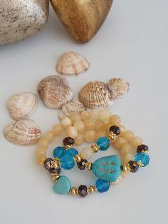 Handmade Accessories, Fashion Accessories, Handmade Jewelry, Gemstone Bracelets, Bracelet Set, Etsy Jewelry, Boho Jewelry, Etsy Business, Artemis