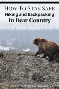 Keep you and your group safe when hiking and backpacking in Bear Country.