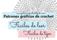 Patrones Crochet Fáciles de Tejer | Crochet y Dos agujas - Patrones de tejido