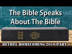 The Bible Speaks About The Bible | Bethel Homecoming 2016 Part 1 | Pastor Mike Hoggard discusses the validity of Bible Translation, Inspiration And Preservation according to Scriptures from the King James Bible. This is one of the presentations from Bethel Church's Homecoming 2016. If you would like to see more, we have the raw footage (UNCUT and FULL length)
