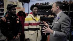 The uber stylish guys at Street Etiquette--Joshua Kissi and Travis Gumbs--take a guest thrift shopping.