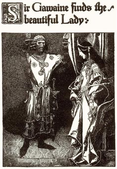 The Story of King Arthur and His Knights Sir Gawaine finds the beautiful Lady