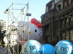 Actividad: Paris Parade 2012.  Lugar: Santiago Chile.  Observación: Desfile Navideño