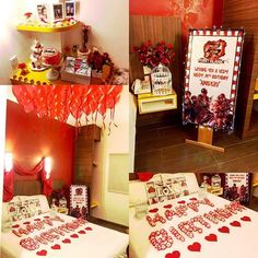 10 Best Decoration Of Room For Boyfriend Birthday Images Romantic