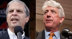 Democrat Mark Herring appeared to overtake Republican Mark Obenshain and open a slim lead in the Virginia attorney general race Monday, as officials neared the end of a key phase of number-crunching in a contest that was too close to call on Election Day. Herring jumped out to a 117-vote lead Monday, according to preliminary figures posted by the Virginia...