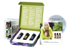 doTERRA Introduction to Essential Oils Kit - The perfect kit for beginners, the Intro to Essential Oils kit includes an introductory audio CD and booklet highlighting the uses of essential oils, and a 5 ml bottle of dōTERRA's CPTG® Lavender, Lemon, and Peppermint essential oils.