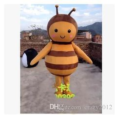 High quality Adult bee mascot costumers,bee mascot costumes,bee mascot clothes