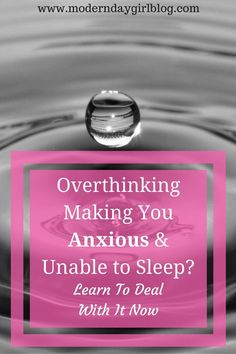 Are you up all night overthinking? I am. Here are my favourite (and best) tips to getting a good night's sleep, regardless of anxiety!