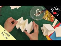 Lotus & Meandering Books / ART PROF - YouTube Collage Art Mixed Media, Art Courses, Art Techniques, Three Dimensional, Art Tutorials, Lotus, Book Art, Fine Art, Create