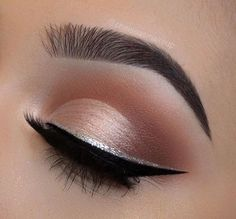 Love the rose gold shade, perfect for prom! #Makeup #MakeupForProm #Prom #MakeupIdeas #MakeupIdeasForProm