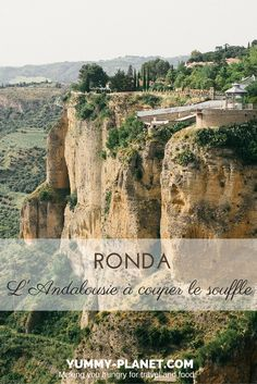 Like many other travelers before me, I will never forget the feeling of vertigo that took me the first time I set my eyes on the Ronda gorges, and the landscape that spread out endlessly while low. If you are visiting Andalucia, don't miss Ronda! Malaga, Benalmadena Spain, Ronda Spain, Travel 2017, Travel Tags, Destination Voyage, Top Travel Destinations, Spain And Portugal, Tours