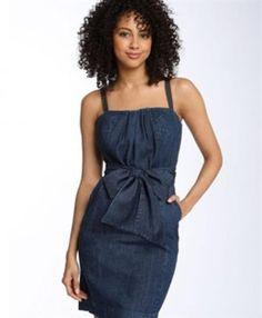 Купить платье женское джинсовое