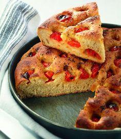 La ricetta della focaccia barese di Sara Papa http://www.alice.tv/pizza-focacce/focaccia-barese