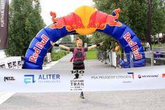 Štefánik Ultra Trail 2016 finish line, 1st women