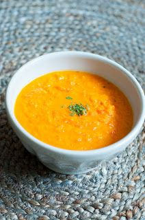 Three girls one kitchen: Wat eten we vandaag: Zoete aardappelsoep met wortel en paprika