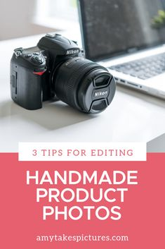 3 Tips For Editing Your Handmade Product Photos Etsy Business, Craft Business, Creative Business, Business Tips, Business Products, Online Business, Flat Lay Photography, Photography Business, Photography Tips