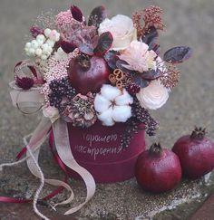 Цветочные Композиции, Красивые Цветы, Сушеные Цветы, Бумажные Цветы, Букеты Цветы, Классификация Роз, Подарки Своими Руками, Простые Цветы, Украшенные Коробки