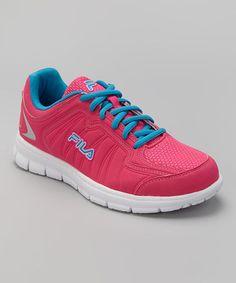 Loving this Pink & Blue Escalight Running Shoe on #zulily! #zulilyfinds