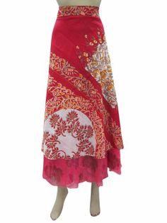 Wrap Around Skirt Vintage Red Silk Sari Reversible Sarong Wrapskirt Mogul Interior,http://www.amazon.com/dp/B00H7VIIB8/ref=cm_sw_r_pi_dp_G6NRsb03H5DC5P6G