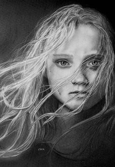 Les Miserable - Cosette by ChrisWoottonArt.deviantart.com on @DeviantArt