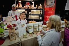 Fine foods: I can't wait to see products like this at An Affair of the Heart of Tulsa.