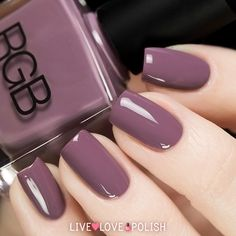 Swatch of RGB Haze Nail Polish (Core Collection) Farbfeld von RGB Haze Nagellack (Core Collection) Classy Nails, Stylish Nails, Simple Nails, Trendy Nails, Cute Nails, Perfect Nails, Gorgeous Nails, Manicure And Pedicure, Gel Nails