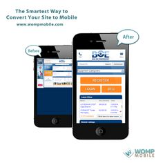Since taking their mobile solution live, Bid on Equipment has experienced a great increase in conversion rates and other site metrics.  http://www.wompmobile.com/blog/mobile-site-week-bid-equipment/