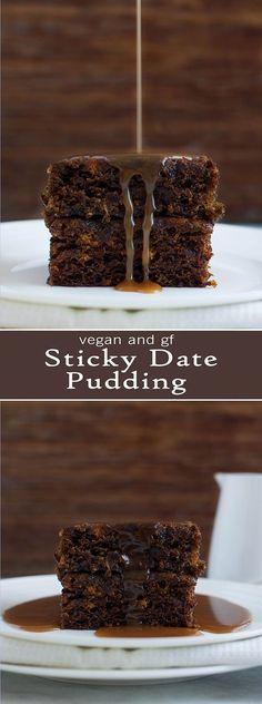 Sticky Date Pudding - Vegan & GF